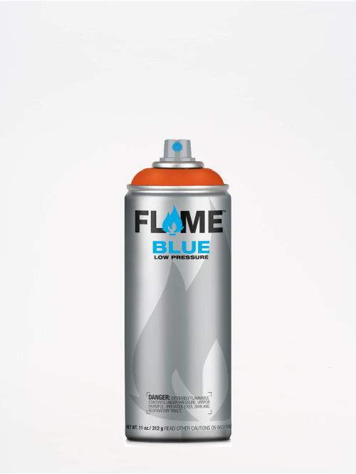 Molotow Spraydosen Flame Blue 400ml Spray Can 214 Orangerot czerwony