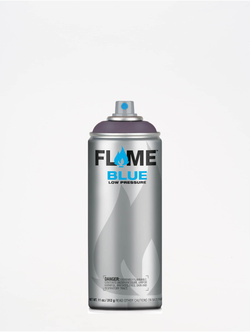 Molotow Spraydosen Flame Blue 400ml Spray Can 820 Violettgrau Mittel fialová