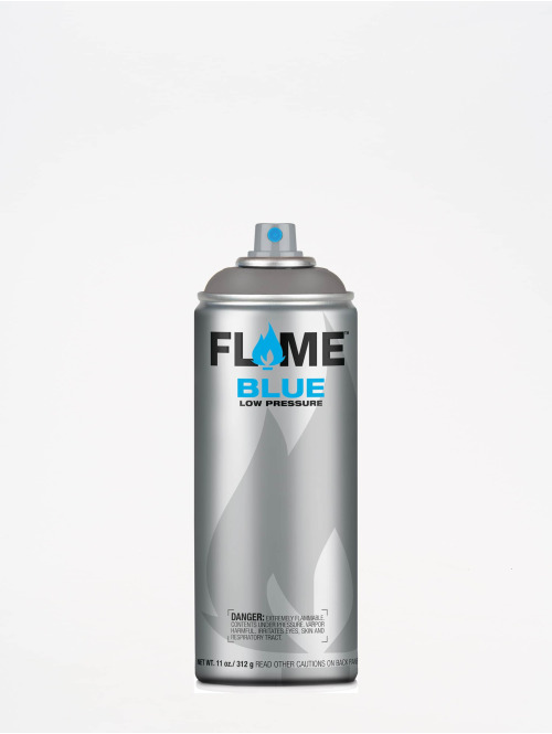 Molotow Spraydosen Flame Blue 400ml Spray Can 840 Dunkelgrau Neutral grau