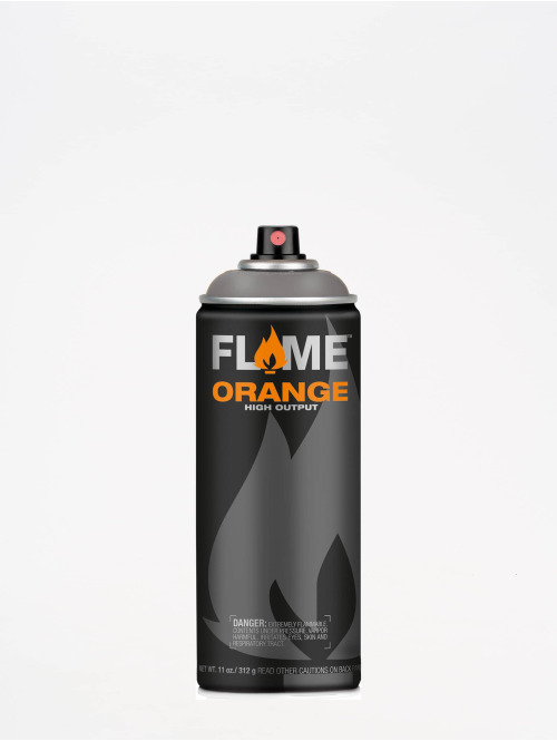 Molotow Spraydosen Flame Orange 400ml Spray Can 840 Dunkelgrau Neutral grau