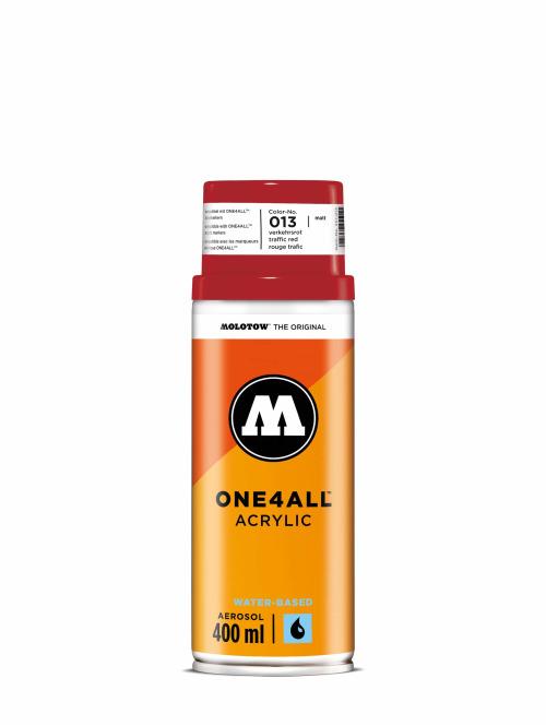 Molotow Spraydosen One4All Acrylic Spray 400ml Spray Can 013 Verkehrsrot rot