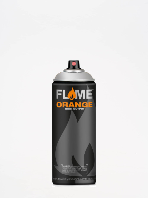 Molotow Spraydosen Flame Orange 400ml Spray Can 902 Ultra-Chrom strieborná