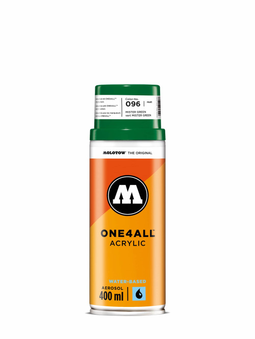 Molotow Spraydosen One4All Acrylic Spray 400ml Spray Can 096 Mister Green zielony