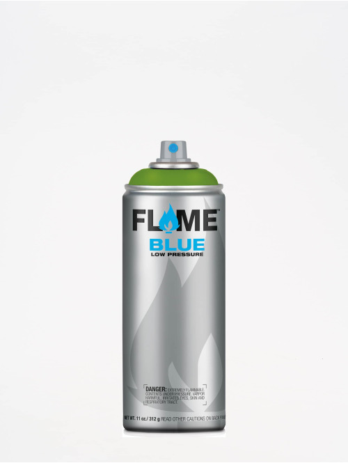 Molotow Spraydosen Flame Blue 400ml Spray Can 644 Kiwi Dunkel zielony