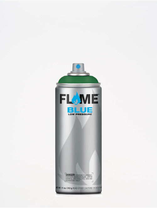 Molotow Spraymaalit Flame Blue 400ml Spray Can 634 Moosgrün vihreä