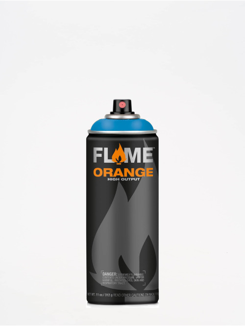 Molotow Spraymaling Flame Orange 400ml Spray Can 511 Crazy Blue blå