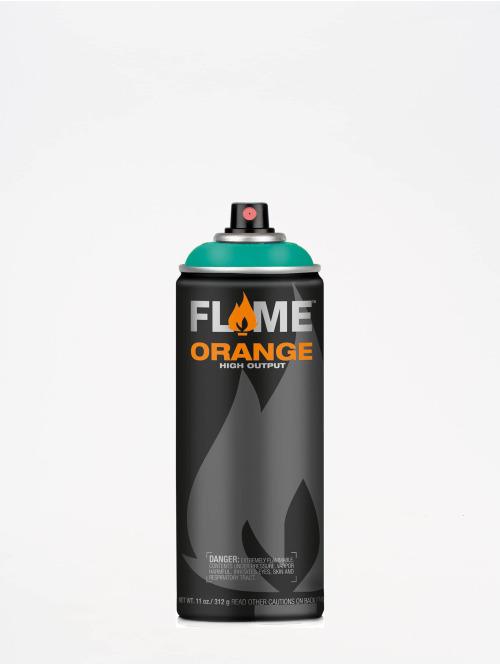 Molotow Spraymaling Flame Orange 400ml Spray Can 604 Lagunenblau blå