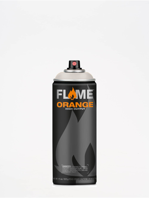 Molotow Spraymaling Flame Orange 400ml Spray Can 834 Hellgrau Neutral grå