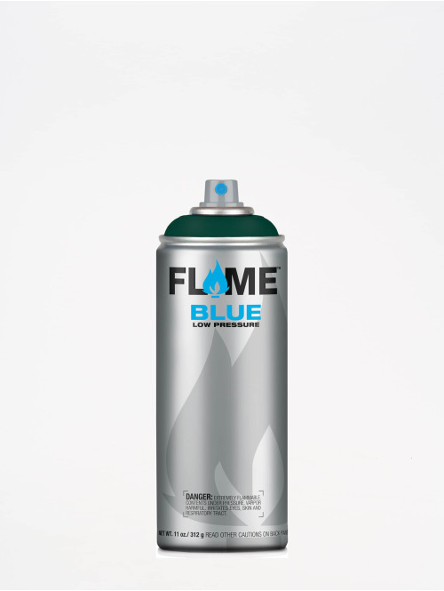 Molotow Spraymaling Flame Blue 400ml Spray Can 668 Menthol Dunkel grøn