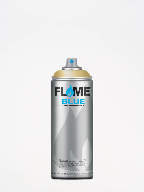 Molotow Spraymaling Flame Blue 400ml Spray Can 906 Golden gull