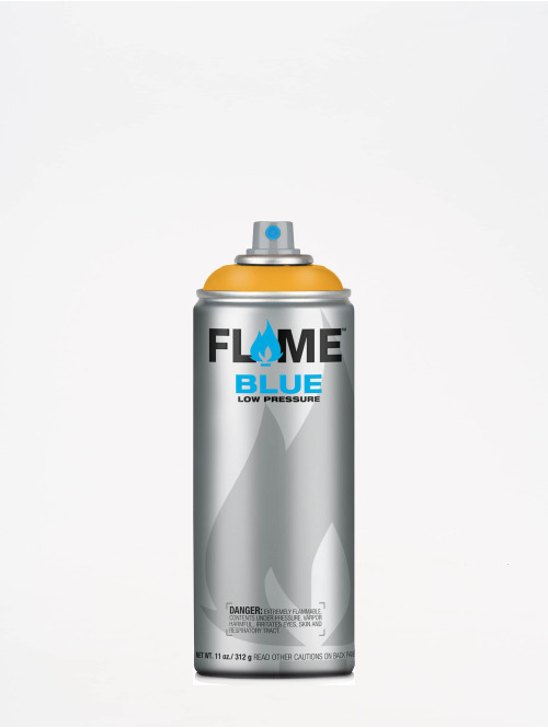 Molotow Spraymaling Flame Blue 400ml Spray Can 112 Safran oransje