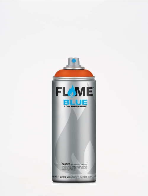 Molotow Spraymaling Flame Blue 400ml Spray Can 214 Orangerot red