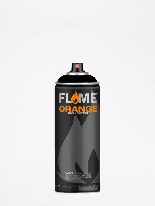 Molotow Spraymaling Flame Orange 400ml Spray Can 904 Tiefschwarz svart