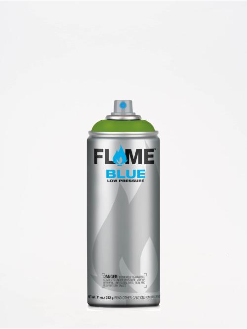 Molotow Spuitbussen Flame Blue 400ml Spray Can 644 Kiwi Dunkel groen
