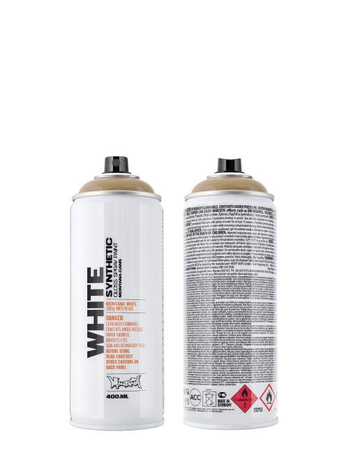 Montana Spraydosen WHITE 400ml 8020 Rattle Snake beige