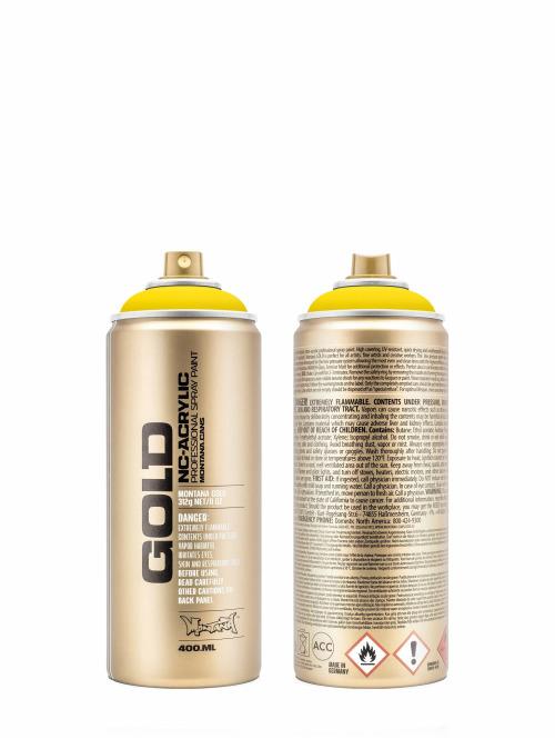Montana Spraydosen GOLD_400ML 1000 Shock Yellow Light gelb