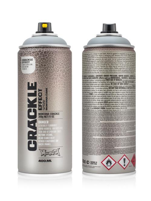 Montana Spraydosen CRACKLE Effect 400ml EC 7000 Squirrel Grey grau