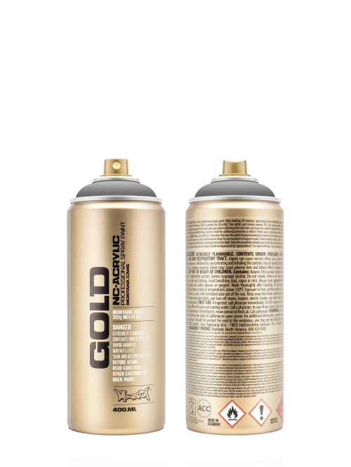 Montana Spraydosen GOLD_400ML 7050 Roof grau