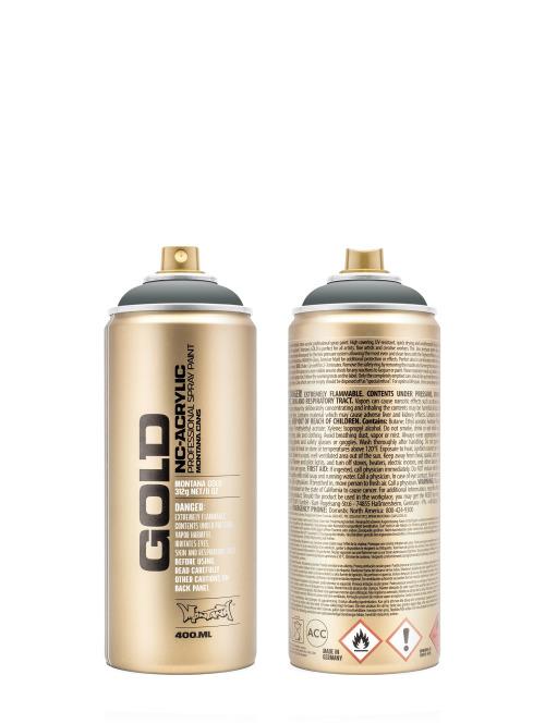 Montana Spraydosen GOLD_400ML 7060 Gravel grau