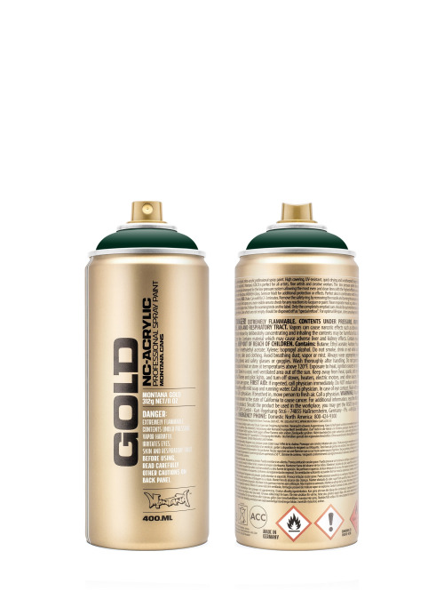 Montana Spraydosen GOLD_400ml 6090 Deep Forest grün
