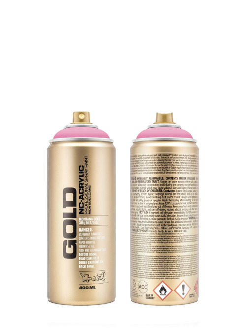 Montana Spraydosen GOLD_400ML 4000 Shock Pink Light pink