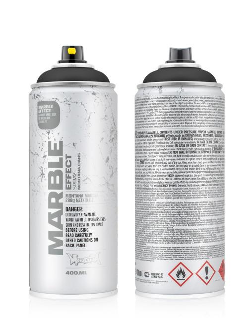Montana Spraydosen 400ml Cans Effect 9000 Marble Black EM schwarz