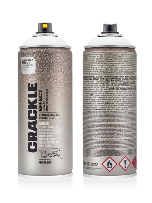 Montana Spraydosen CRACKLE Effect 400ml EC 9010 Pure White weiß