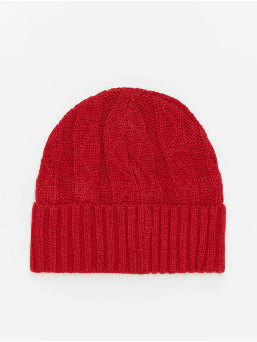 MSTRDS Beanie Cable Flap rot