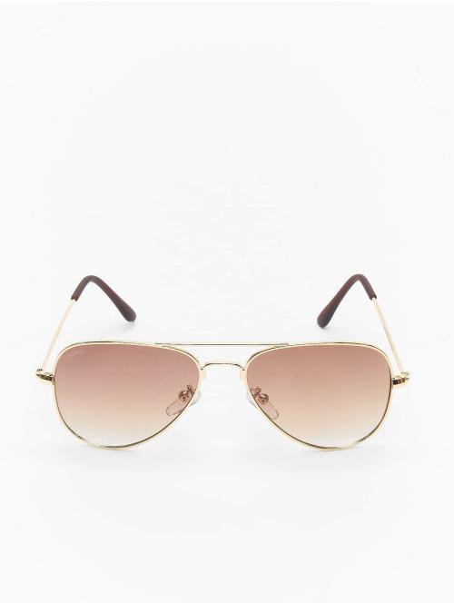 MSTRDS Sonnenbrille Pureav Youth goldfarben