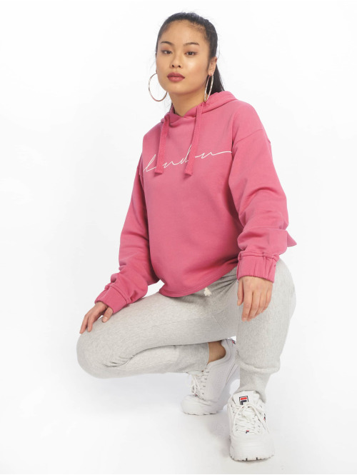 NA-KD Hoody London pink