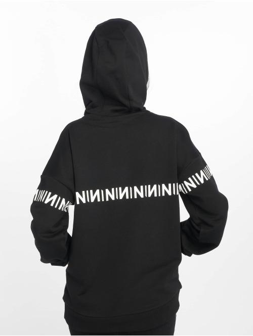 NA-KD Hoody N-Brand schwarz