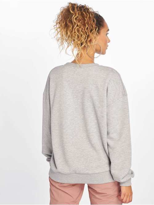 NA-KD Pullover Only Oversized grau