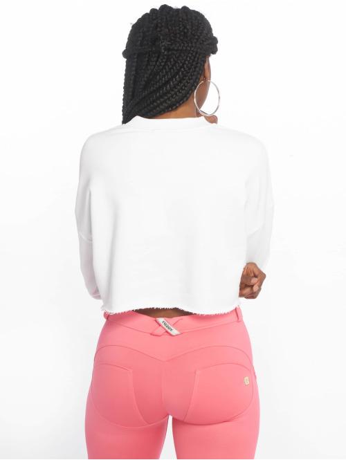 NA-KD Pullover Short weiß
