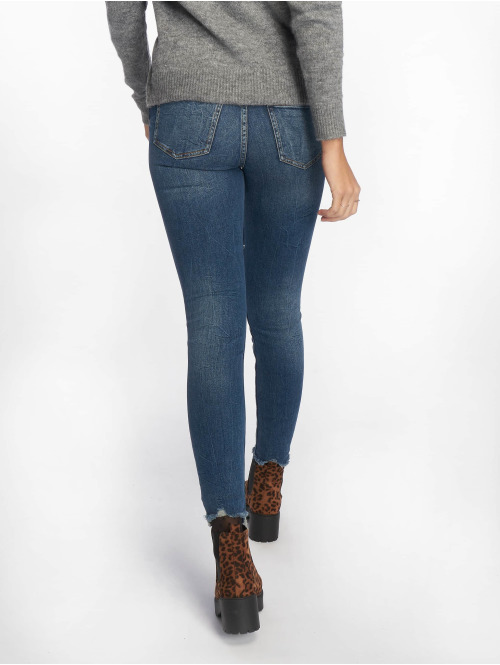 NA-KD Skinny Jeans Sara blau