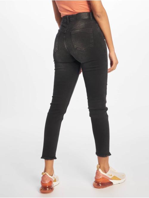 NA-KD Skinny Jeans Twisted schwarz