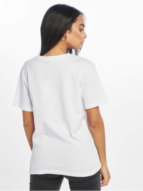 NA-KD T-Shirt Awesome Oversized weiß
