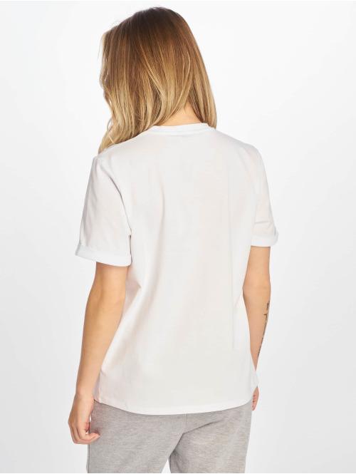 NA-KD T-Shirt Details weiß