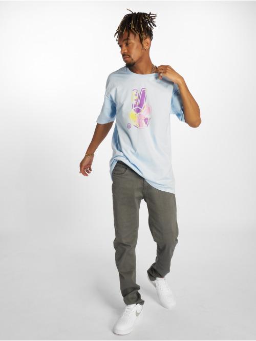NEFF T-Shirt Peace Out blau