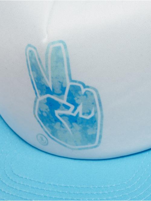 NEFF Trucker Cap Peace blau