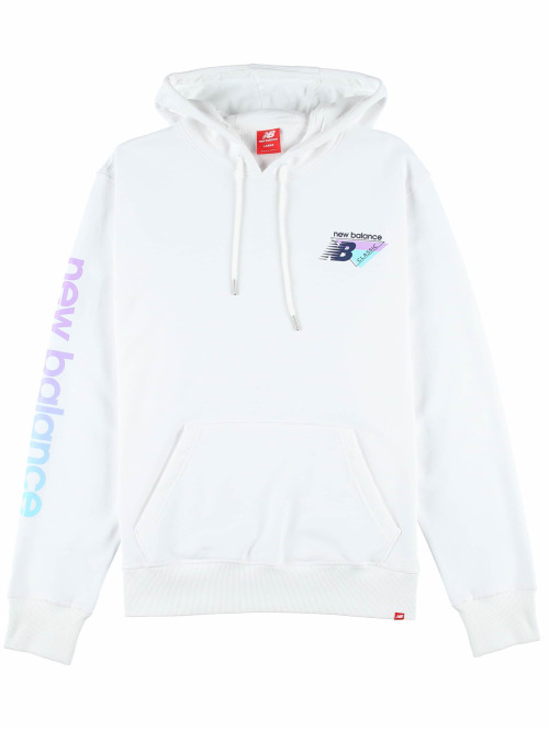New Balance Hoody Essentials 90s weiß