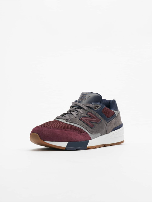 New Balance Sneaker Ml597bgn rot