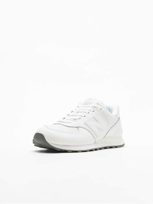 New Balance Sneaker ML574 D weiß