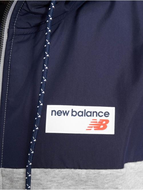 New Balance Zip Hoodie Athletic grau