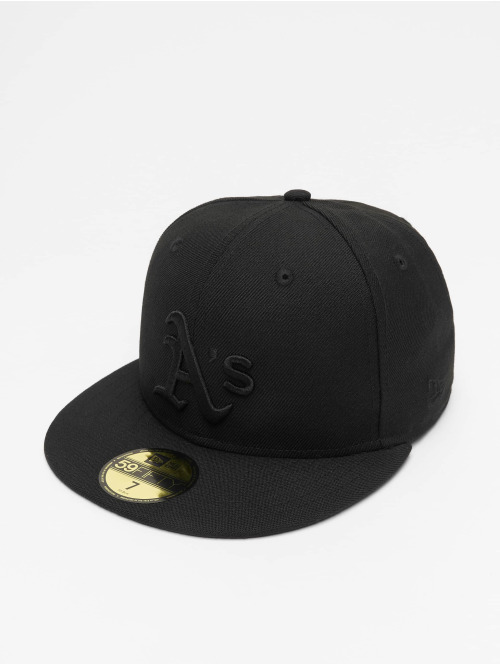 New Era Casquette Fitted MLB Oakland Athletics 59Fifty noir