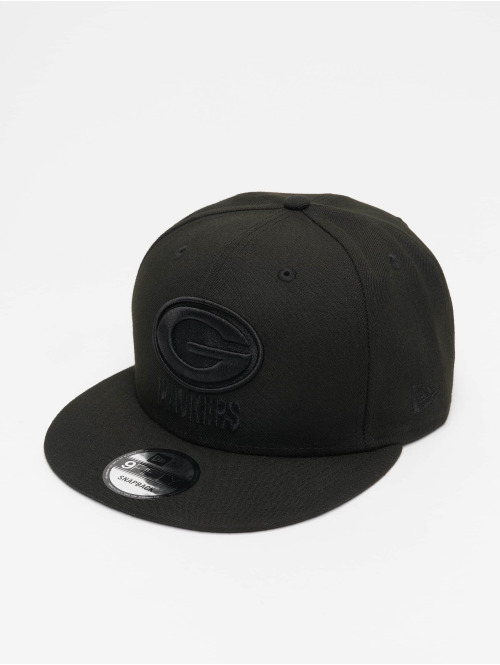 New Era Casquette Snapback & Strapback NFL Green Bay Packers 9Fifty noir