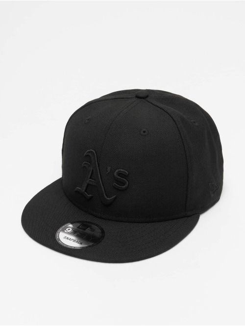 New Era Casquette Snapback & Strapback MLB Oakland Athletics 9Fifty noir