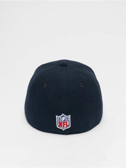New Era Fitted Cap NFL Wintr Utlty Micro Fleece New England Patriots 59 Fifty blau