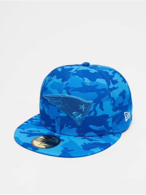 New Era Fitted Cap NFL New England Patriots Camo 59fifty blau