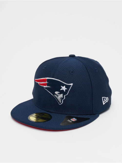 New Era Fitted Cap NFL New England Patriots Hex Era 59fifty blau