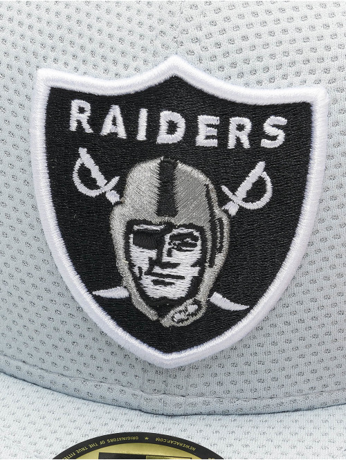 New Era Fitted Cap NFL Oakland Raiders grau